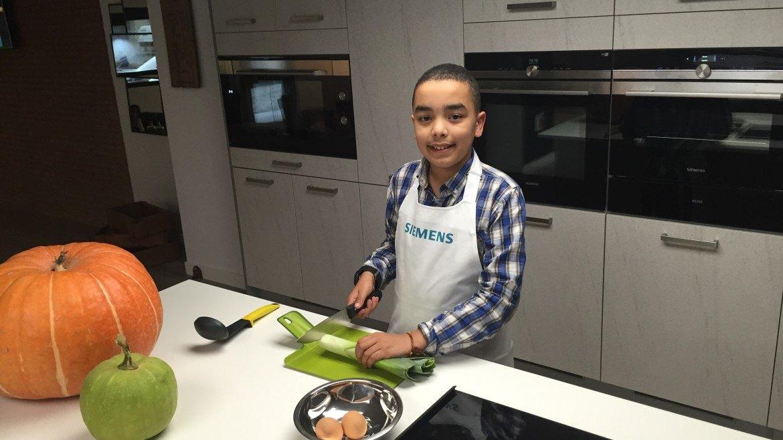 Cursos para niños cocinando en ingles